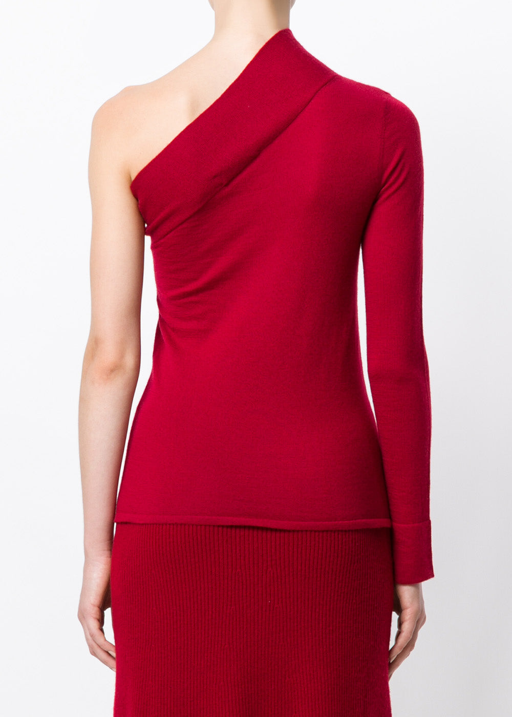 Violet Open Shoulder Jumper
