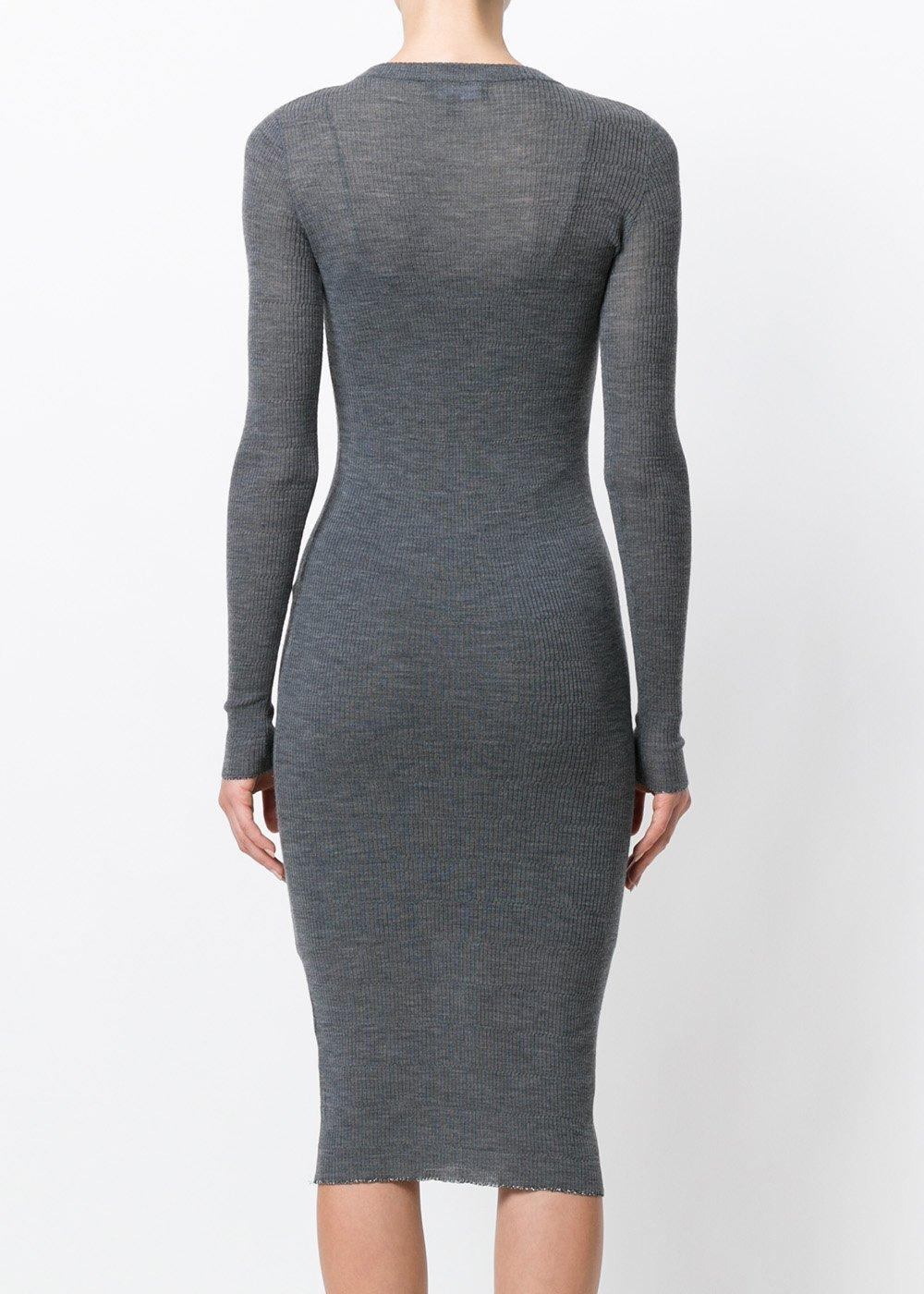 Tiera fine knit dress - Grey Cashmere in Love sUjPS