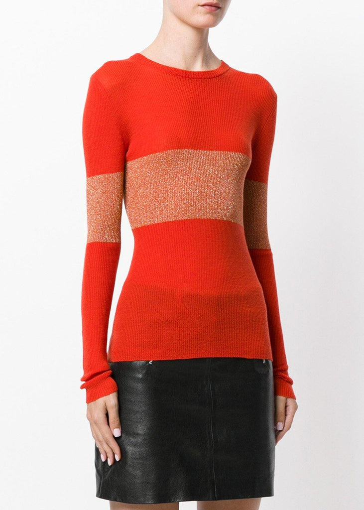 Vivien Jumper With Lurex Stripe