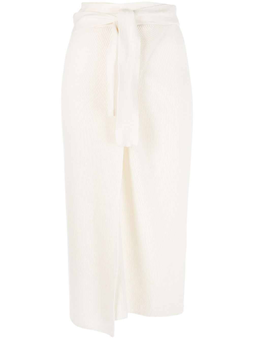 Lucy Cashmere Wrap Skirt