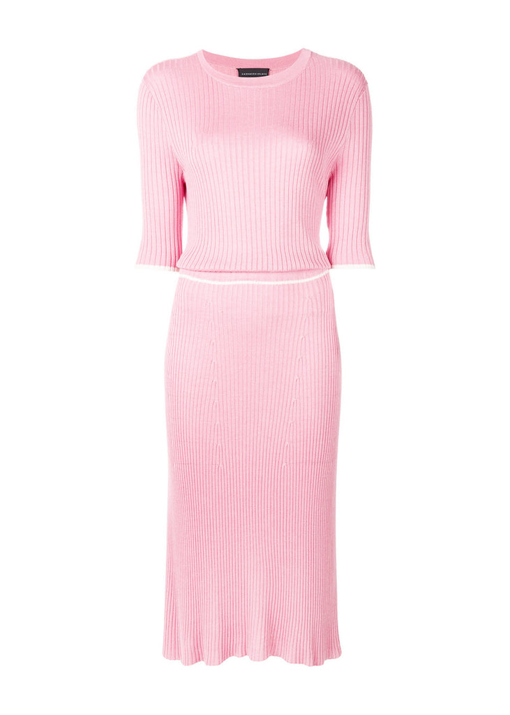 Desideria Ribbed Knit Dress