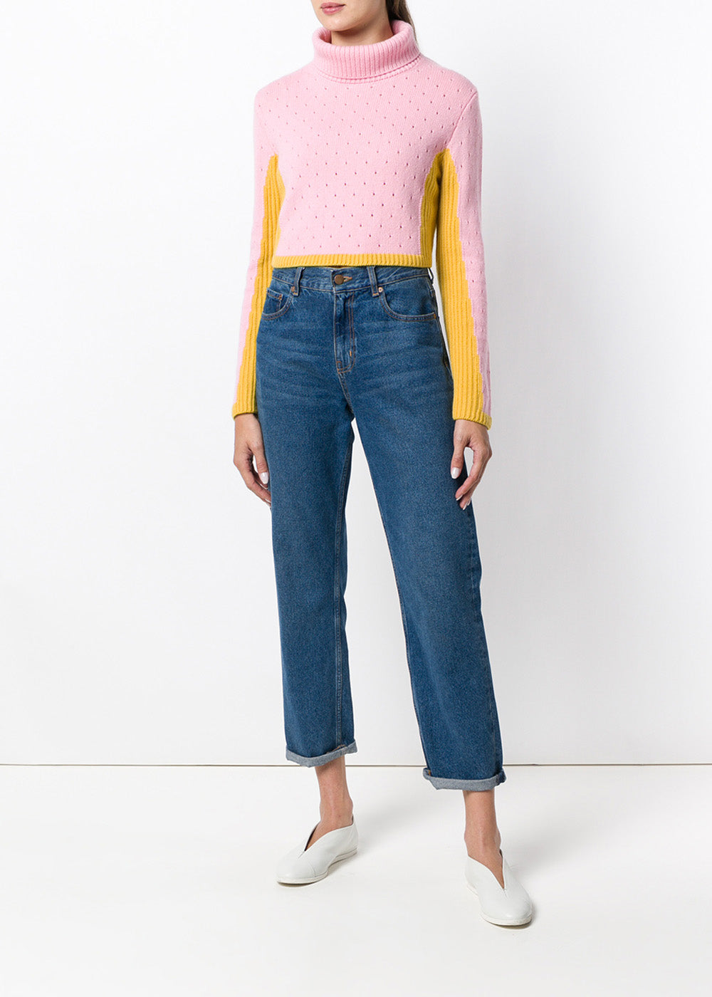 Layla Cropped Rollneck