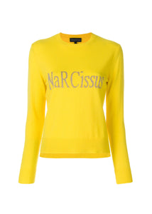 *Narcissus* Retro Floral Jumper