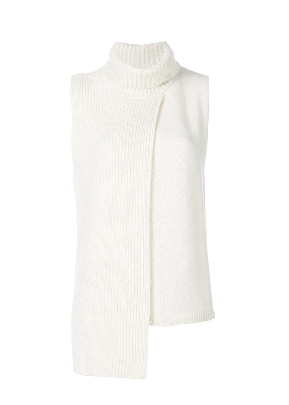 Tania Turtleneck Ribbed Vest