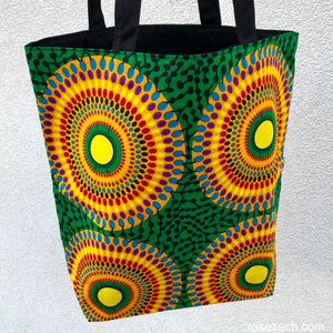 Tote bag - 'Record' print