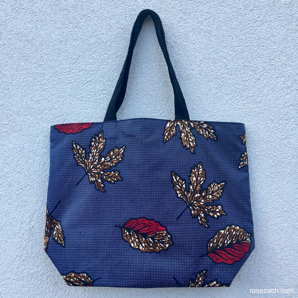Colourful Reusable Shopper - wax print