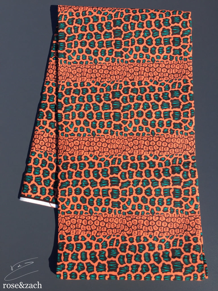 Unique Wax Fabric - Leopard