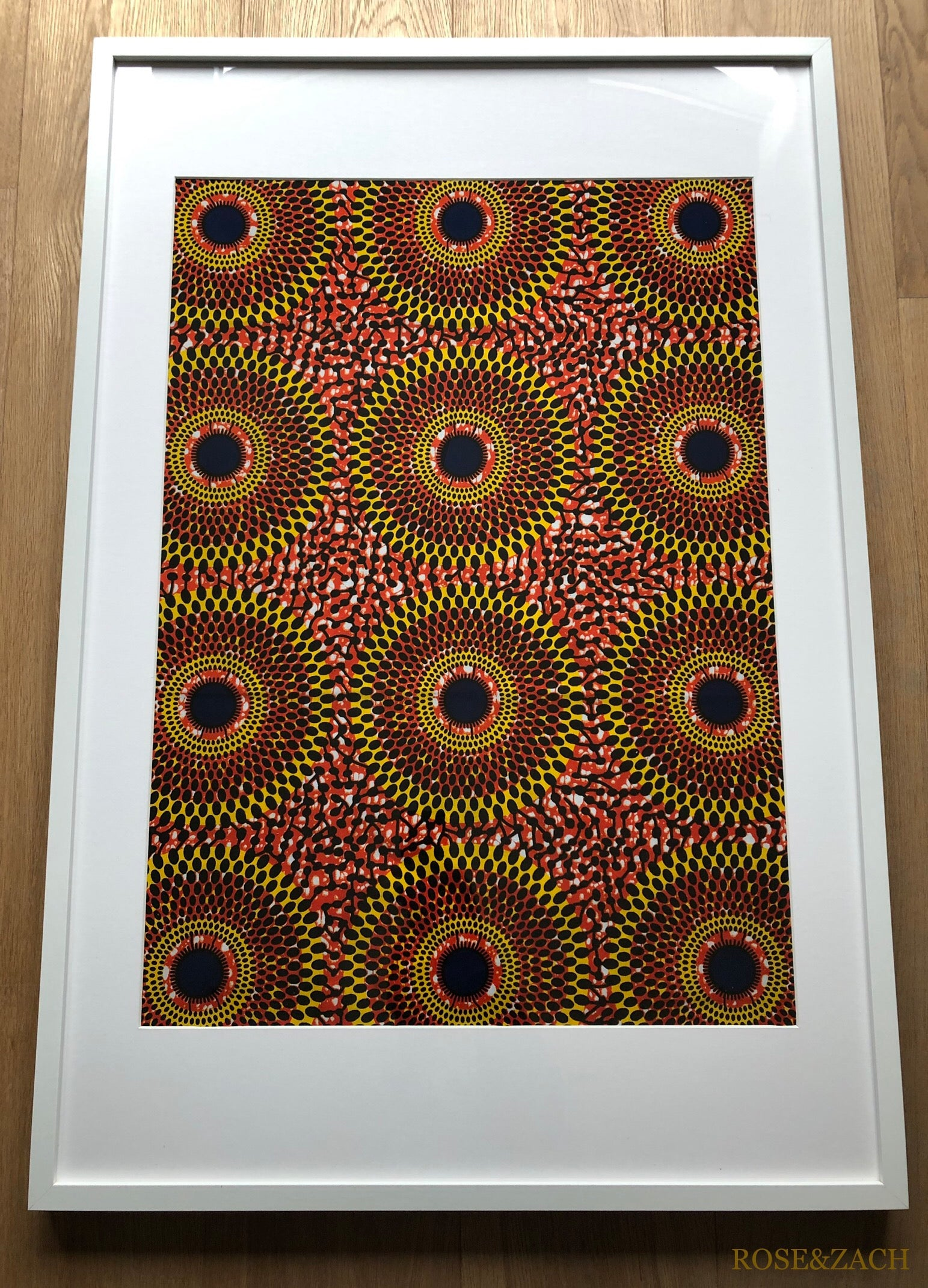 Colourful Print for Large Frame