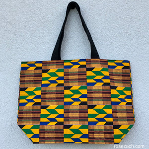 Shopper - 'Kente' Wax Print