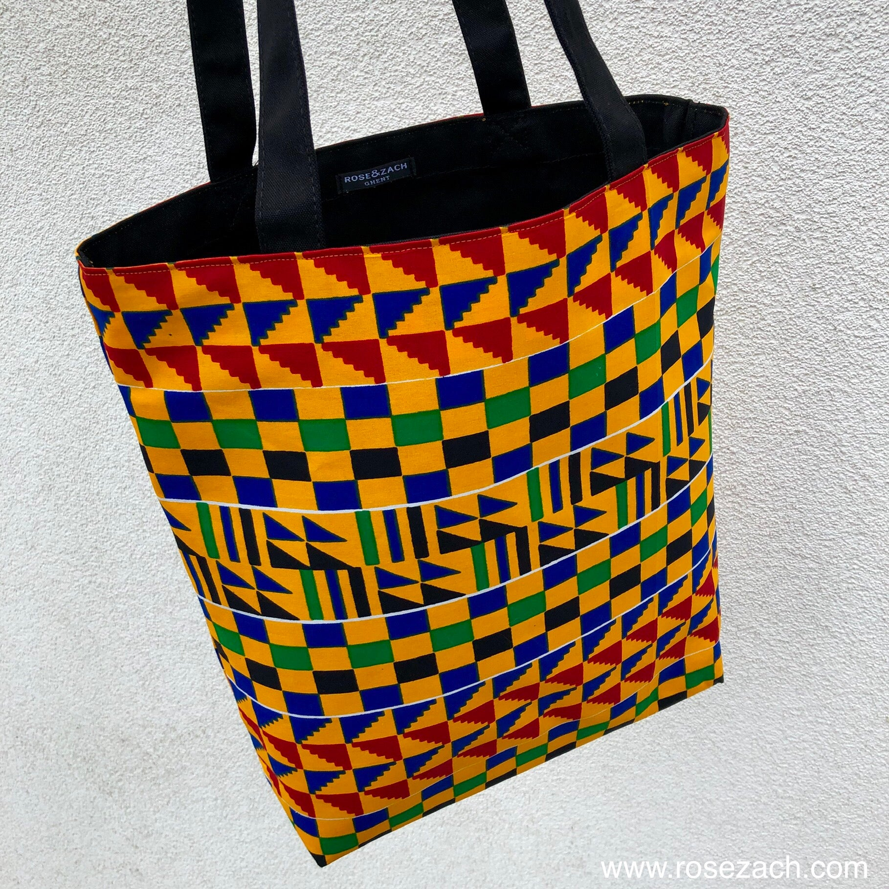Tote bag - 'Kente' print