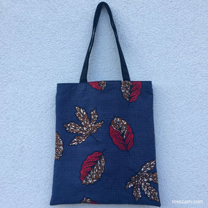 Tote bag - Autumn Leaves print