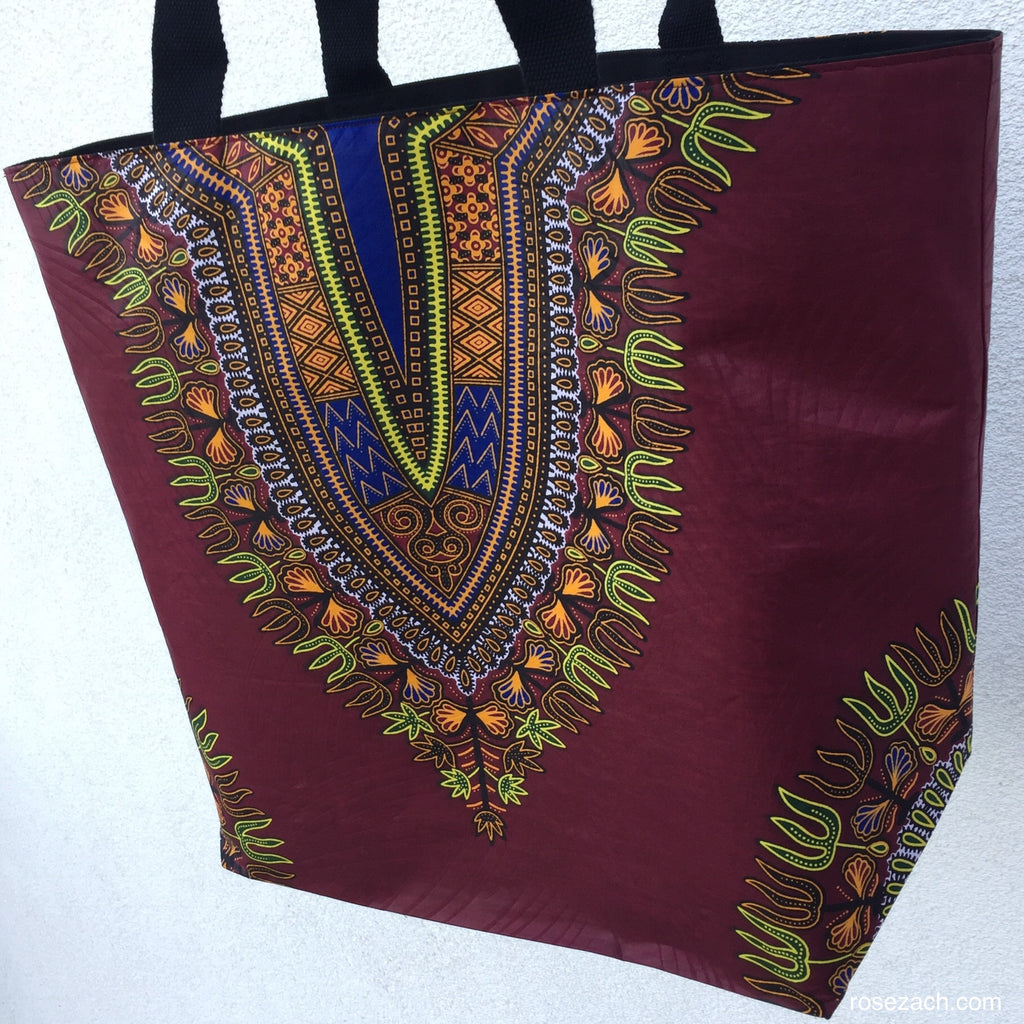 Shopper - 'Dashiki' Wax Print