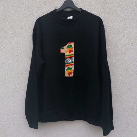 Black '1' Sweater