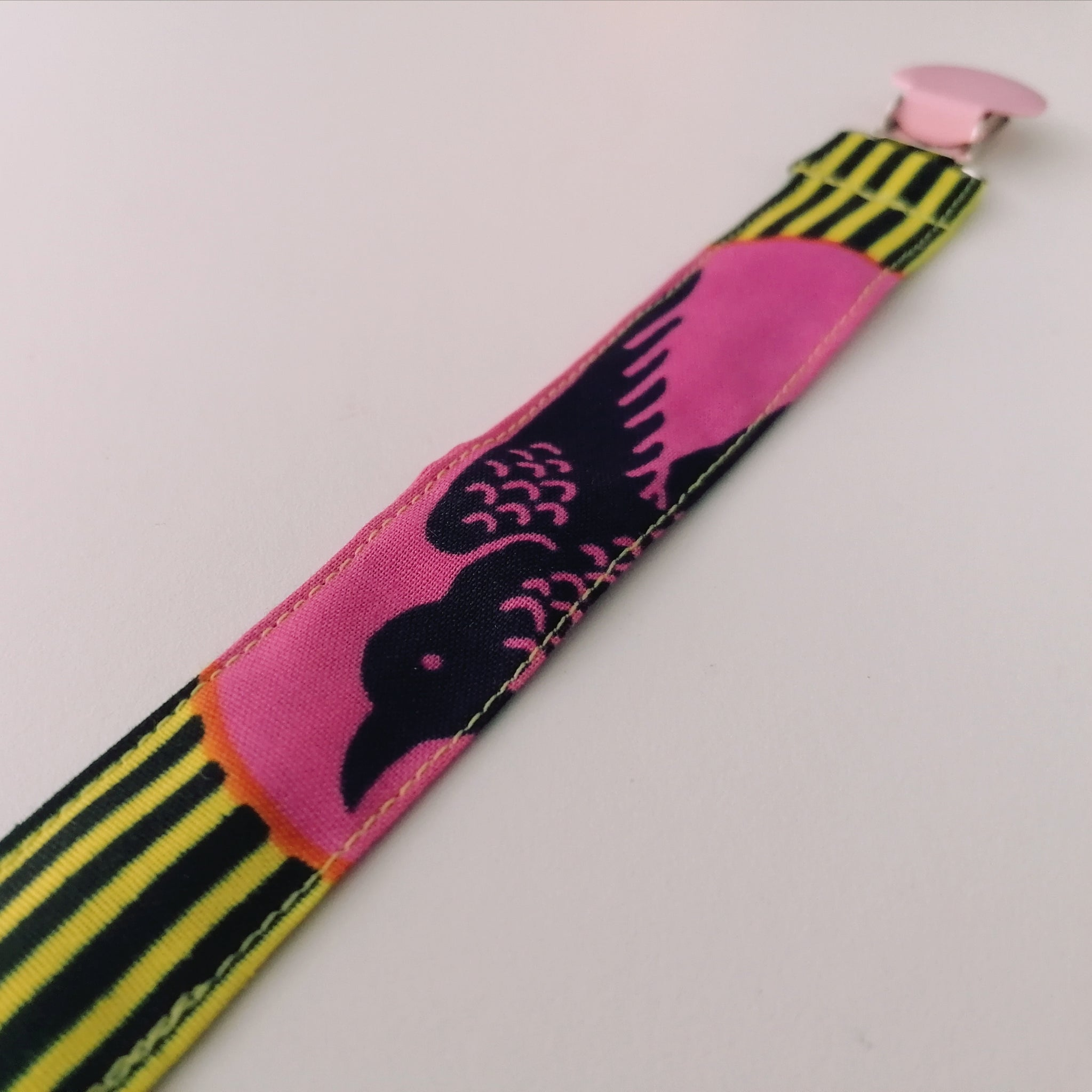 Colourful Pacifier Holder - Speedbird