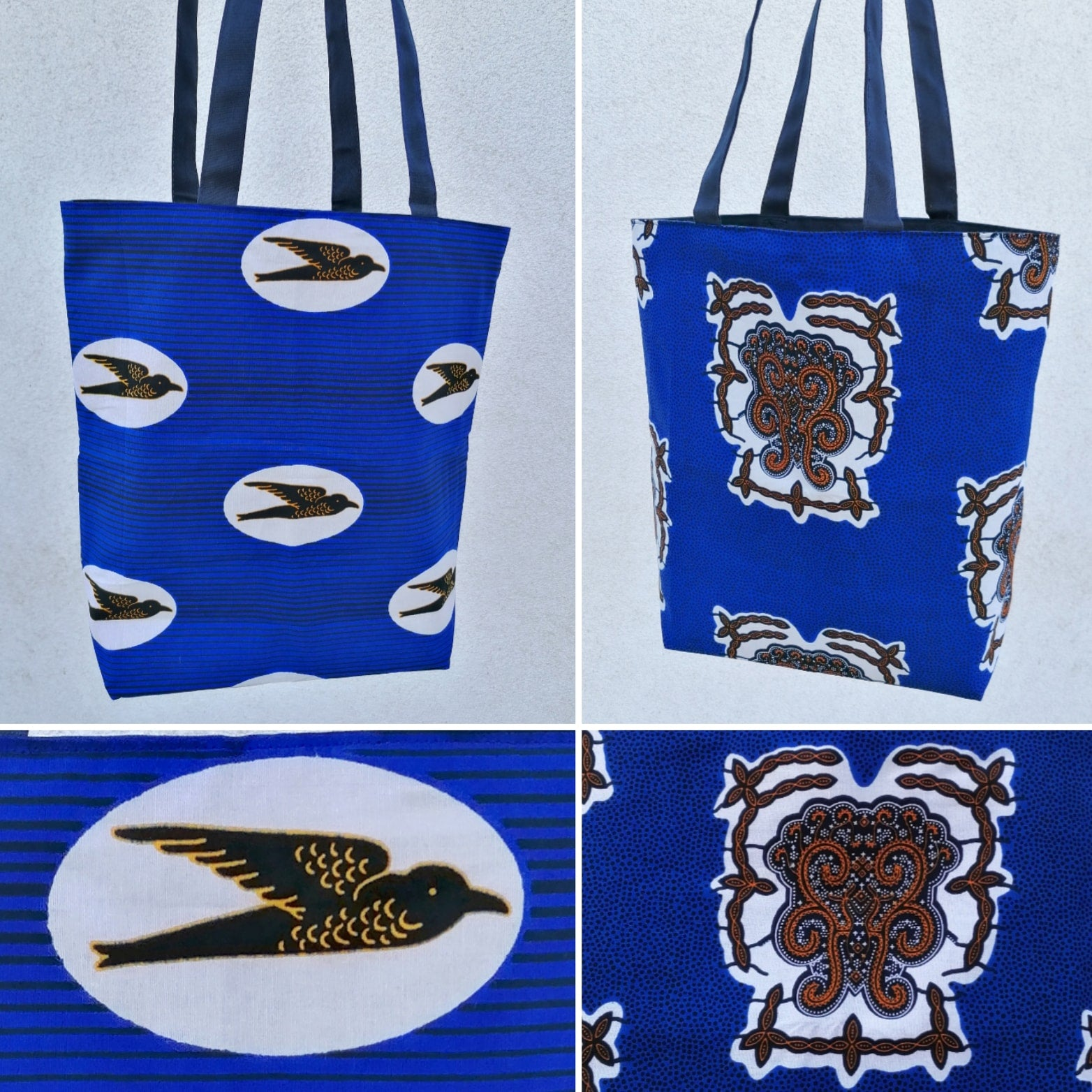 Colourful Shopping Bag - 2 Prints