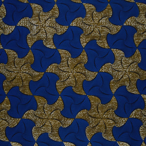 VLISCO Hollandais African Print Wax Fabric - per meter