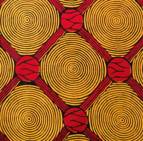 VLISCO Hollandais African Print Wax Fabric