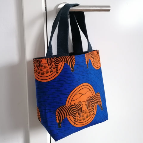 Colourful Mini Bag - Wax Print