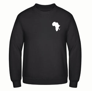 Black Sweater AFRICA MAP