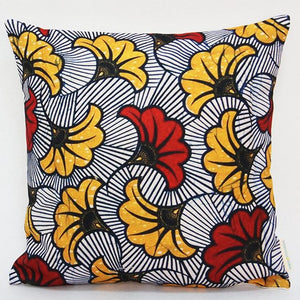 Colourful Decoratieve Cushion - Wax Print