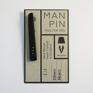 Bespoke Metal Dot Man Pin