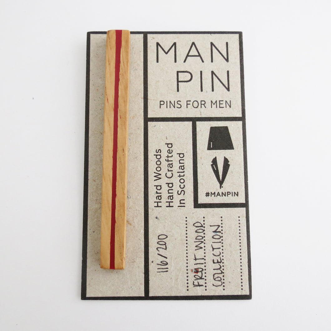 FRUIT WOOD MAN PIN 116/200