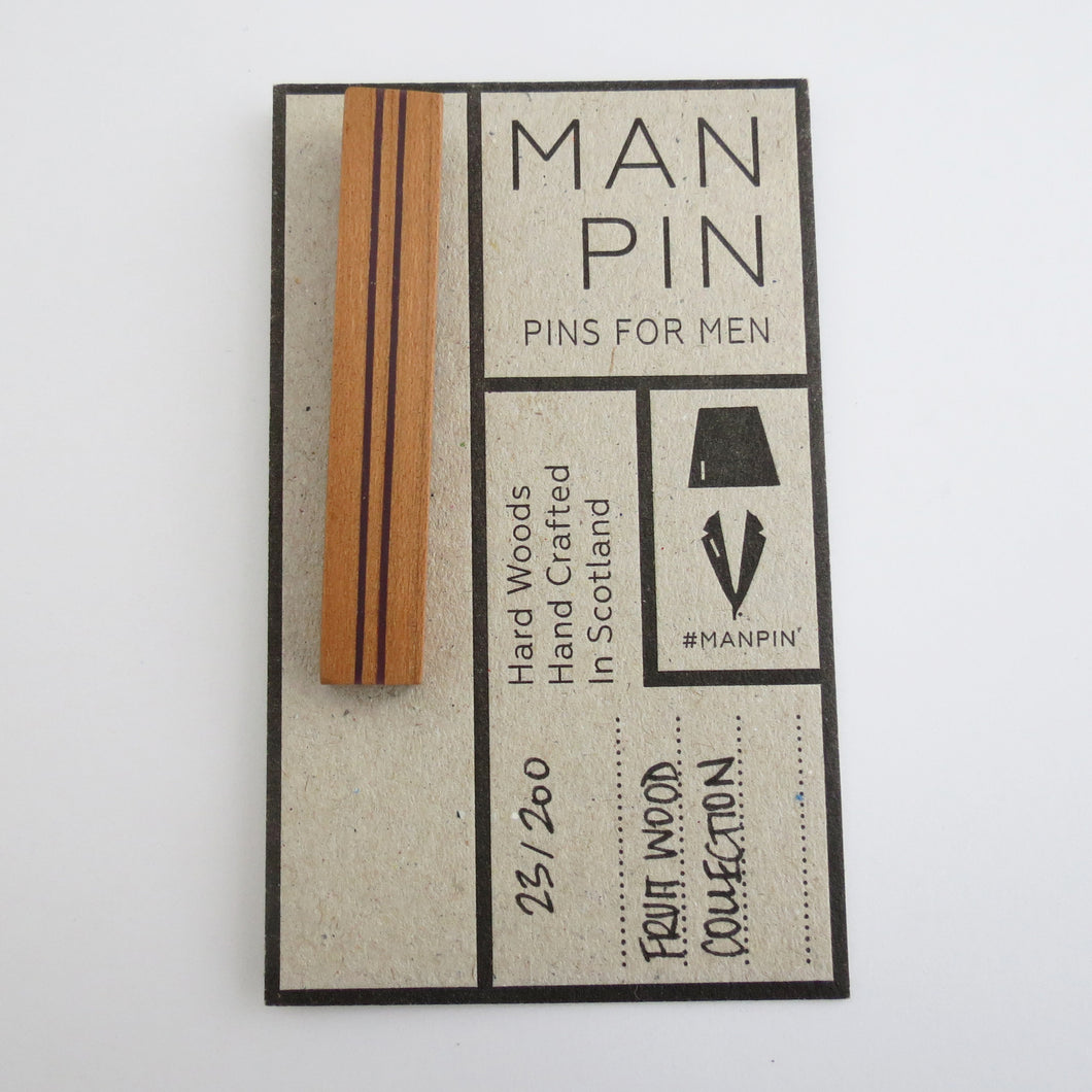 FRUIT WOOD MAN PIN 23/200
