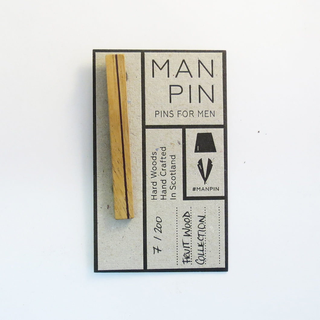 FRUIT WOOD MAN PIN 7/200