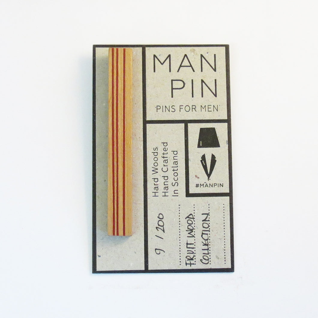 FRUIT WOOD MAN PIN 9/200