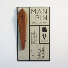 Bespoke Laser Etched Man Pin