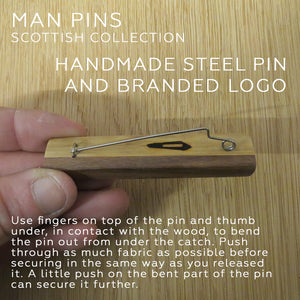 MAN PIN - SCOTTISH COLLECTION 196/200