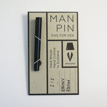 Bespoke Resin Stripe Man Pin