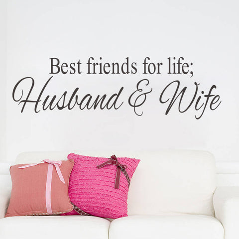 Wall Sticker ''Husband&Wife''