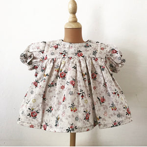 Liberty fabric doll dress