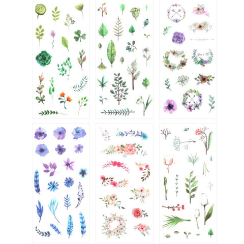 Wild nature sticker set - In Bloom.