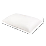 Set of 2 Single Bamboo Memory Foam Pillow