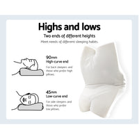 Giselle Memory Foam Neck Pillow