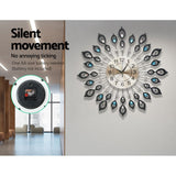 Large Modern Silent Wall Clock - 60cm