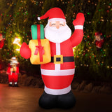 Jingle Jollys 2.4M Inflatable Santa