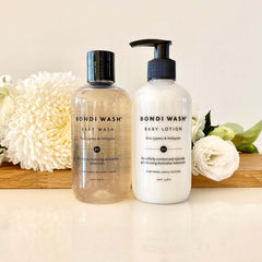 Bondi Wash Baby Lotion and Wash