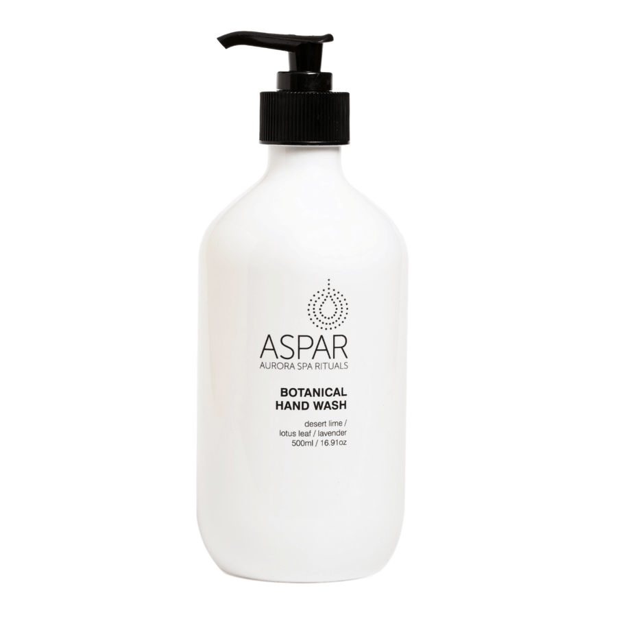 Botanical Hand Wash 500mL Pump by ASPAR