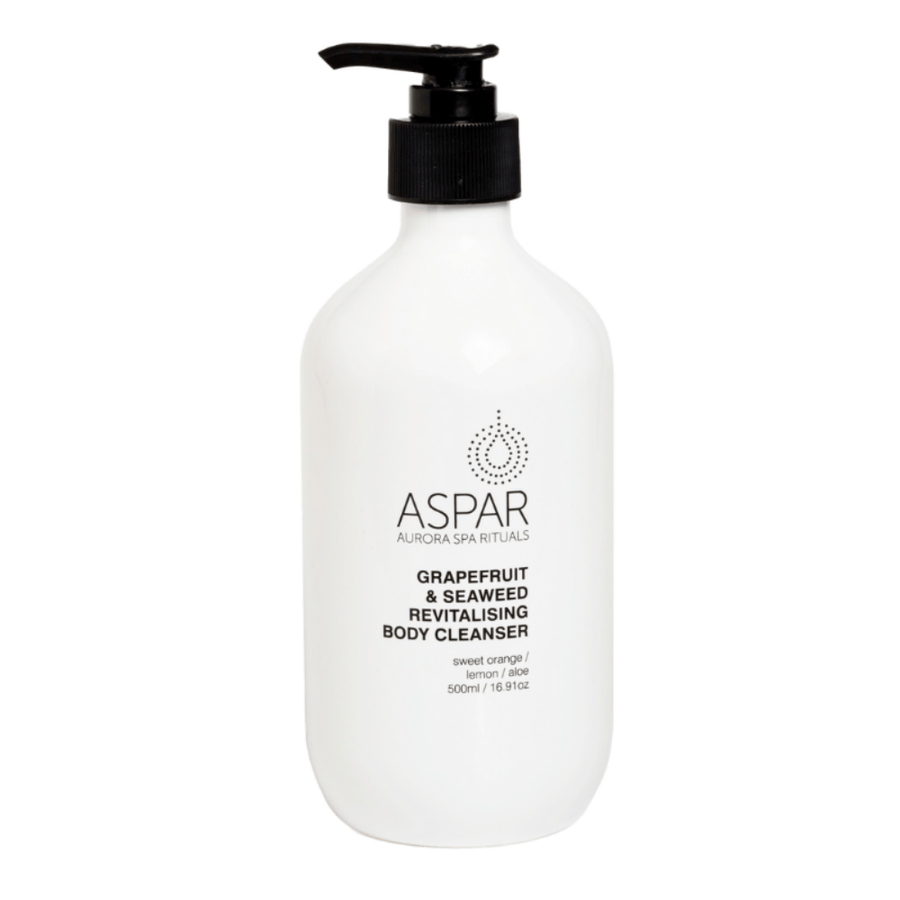 Grapefruit & Seaweed Revitalising Body Cleanser 500mL Pump by ASPAR