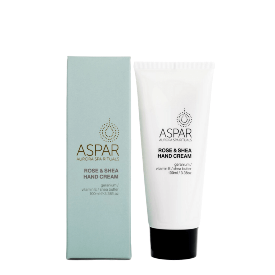 Rose & Shea Hand Cream 100mL Tube by ASPAR