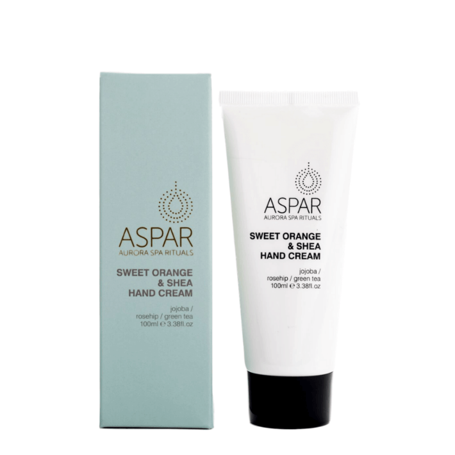 Sweet Orange & Shea Hand Cream 100mL Tube by ASPAR