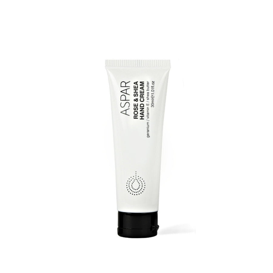 Rose & Shea Hand Cream 30mL Tube by ASPAR