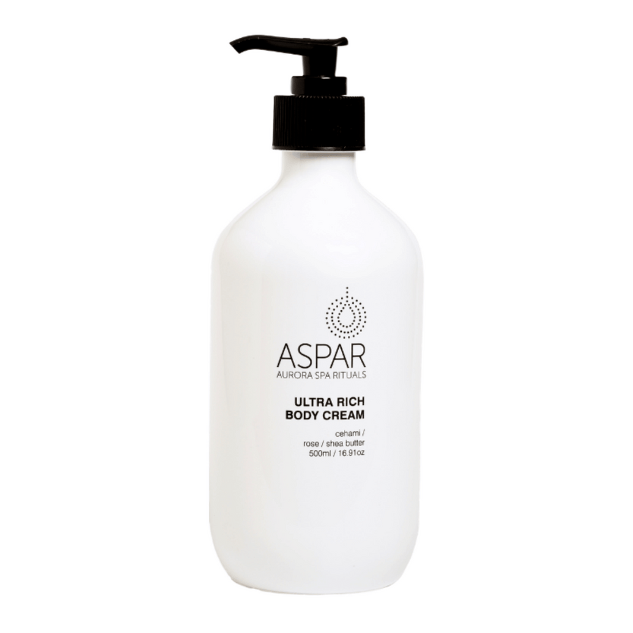 Ultra Rich Body Cream 500mL Pump by ASPAR