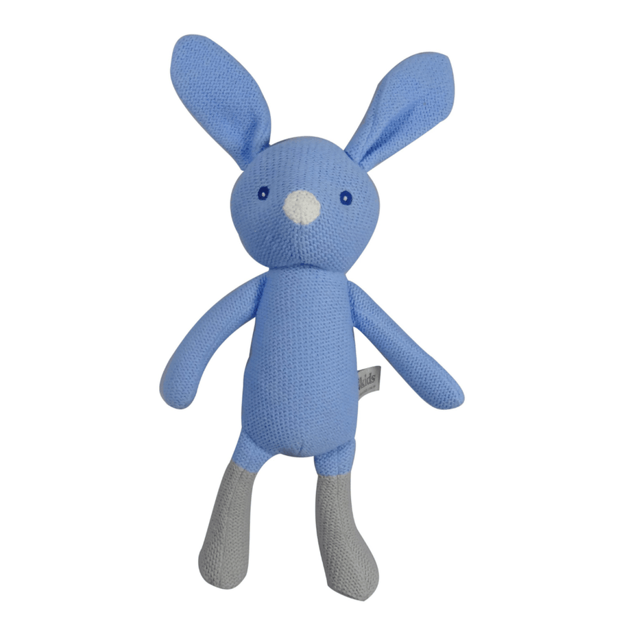 Blue Knitted Bunny by ES Kids