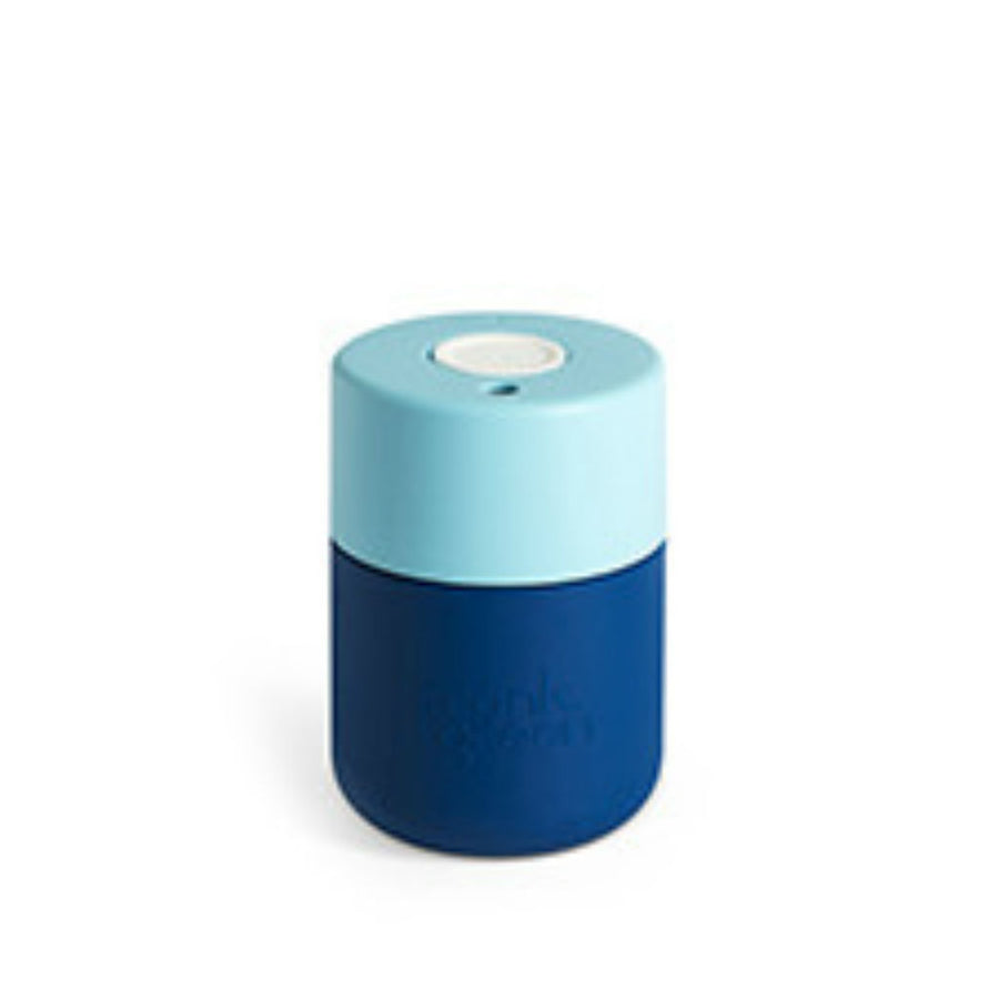 Frank Green Navy & Blue Reusable Smart Cup 230mL