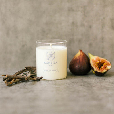 Kandila Co Burnt Fig Candle