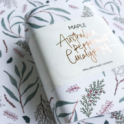 Australian Peppermint Eucalyptus Soap by Maple Soaps